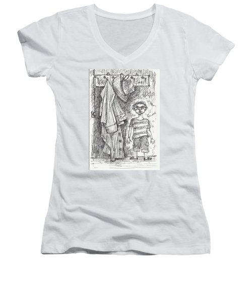 An Apartment Goblin Women's V-Neck T-Shirt