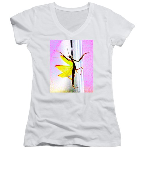 And Now Our Featured Dancer Women's V-Neck T-Shirt