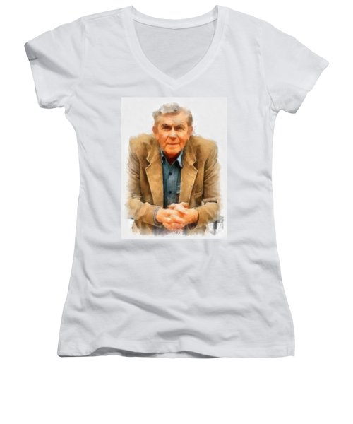 Andy Griffith Women's V-Neck