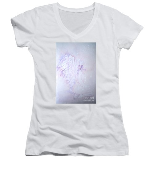 Angel Women's V-Neck T-Shirt