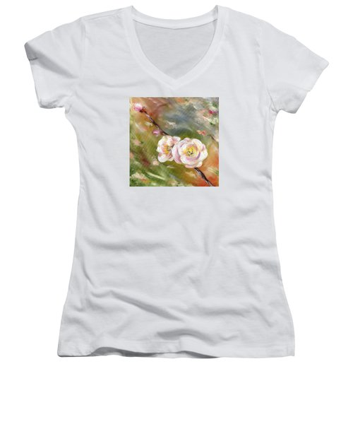Anniversary Women's V-Neck (Athletic Fit)