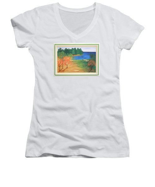 Another Sunday Morning Women's V-Neck T-Shirt