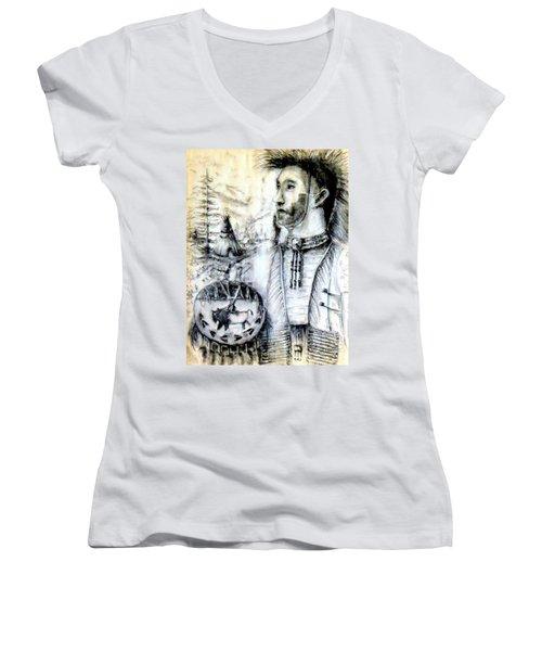 Arapaho Cheyenne Women's V-Neck T-Shirt