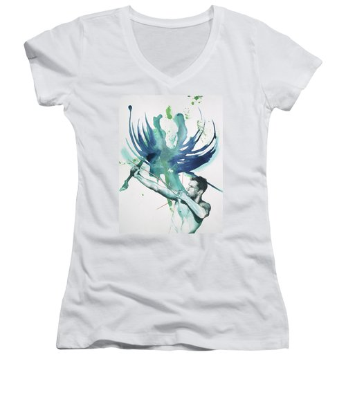 Archer Women's V-Neck (Athletic Fit)