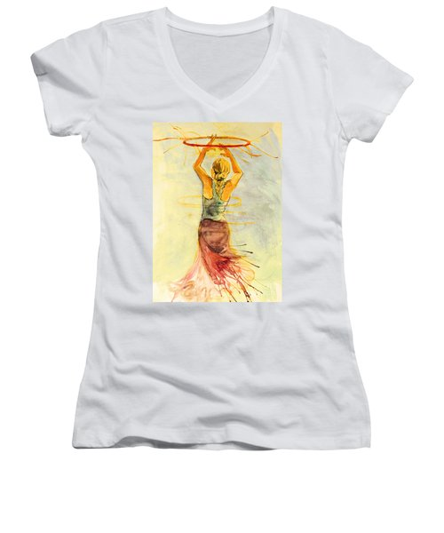 As The Sun Rises Women's V-Neck