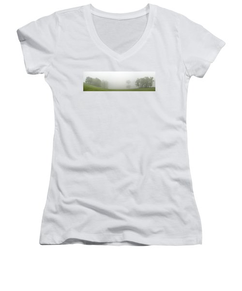 As You Can Not So Clearly See Women's V-Neck
