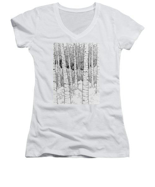 Aspen Forest Women's V-Neck