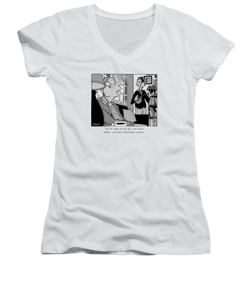 At This Stage Of Your Life Women's V-Neck