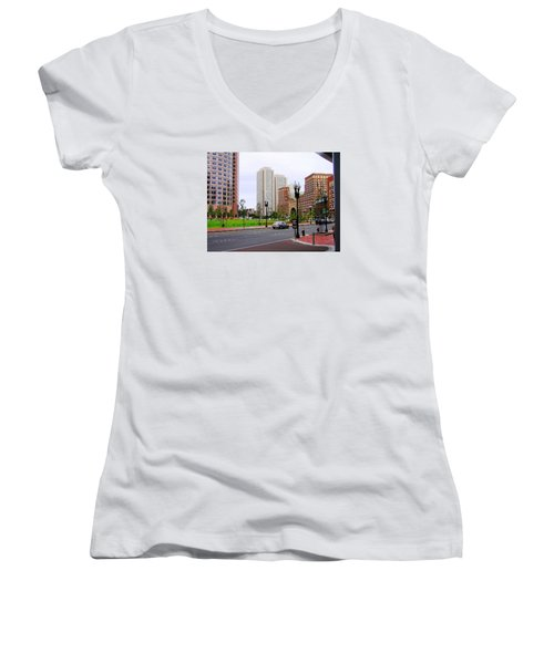 Atlantic Avenue Women's V-Neck T-Shirt