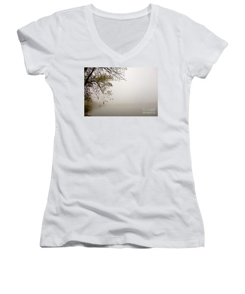 Autumn Mist Women's V-Neck