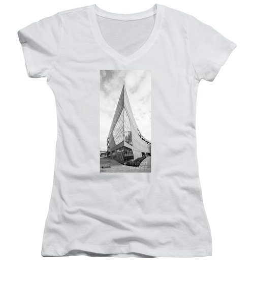 B Sharp Women's V-Neck T-Shirt