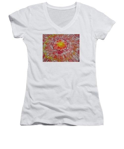 Bathed My Soul Women's V-Neck T-Shirt