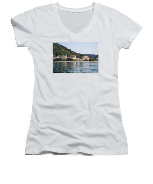Beach 5 Women's V-Neck (Athletic Fit)