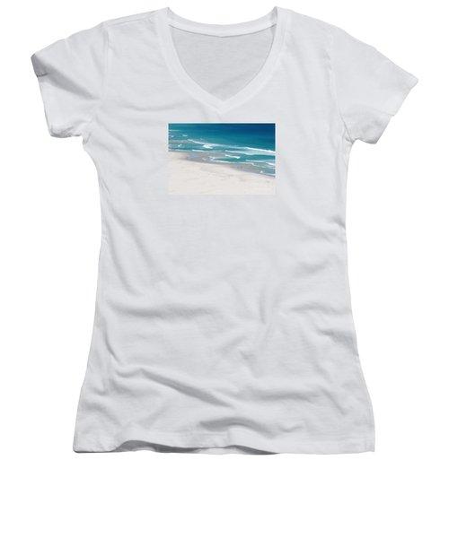 Beachscape Women's V-Neck (Athletic Fit)
