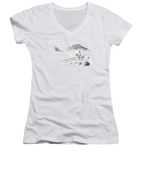 Open Prairie Overlook Women's V-Neck