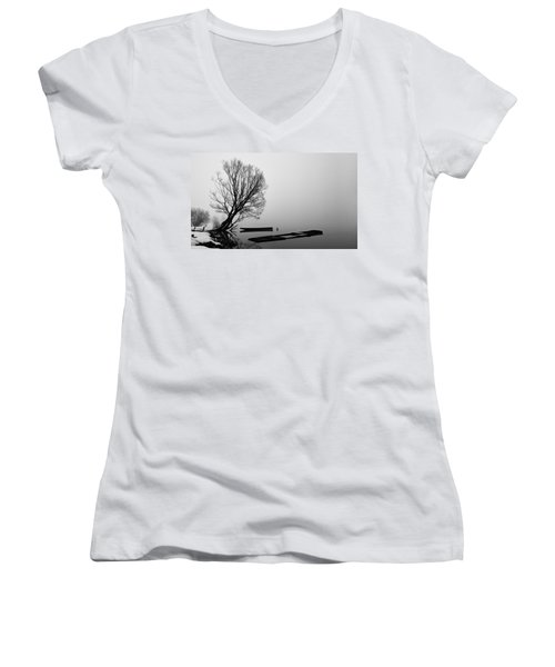 Beginning Of The End Women's V-Neck T-Shirt