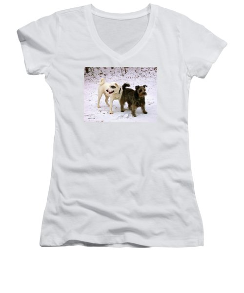 Best Buddies Women's V-Neck