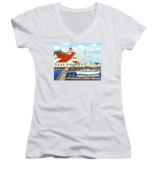 Best Day Ever Women's V-Neck (Athletic Fit)