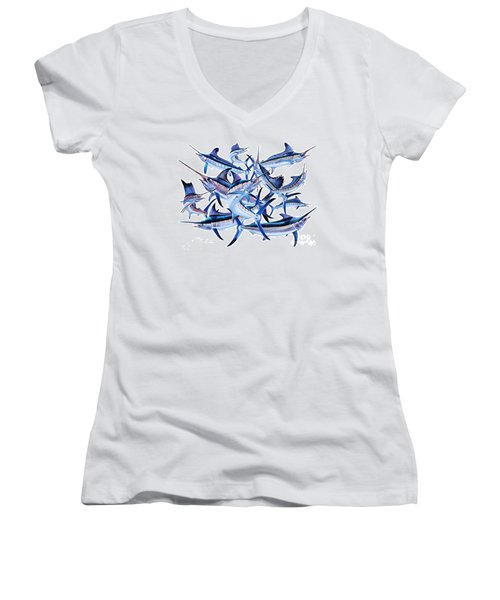 Bills Off0044 Women's V-Neck T-Shirt