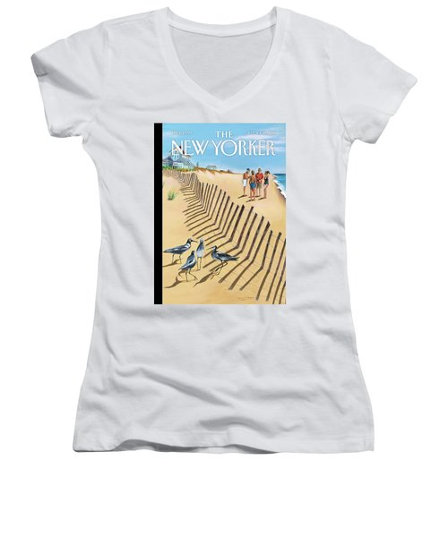 Birds Of A Feather Women's V-Neck