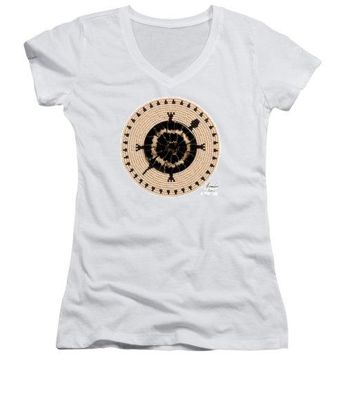 Black Shell Women's V-Neck