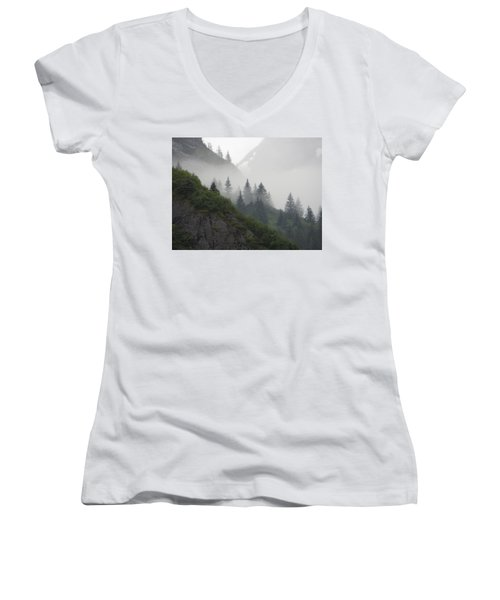 Blanket Of Fog Women's V-Neck T-Shirt