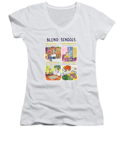 Blend Schools Women's V-Neck