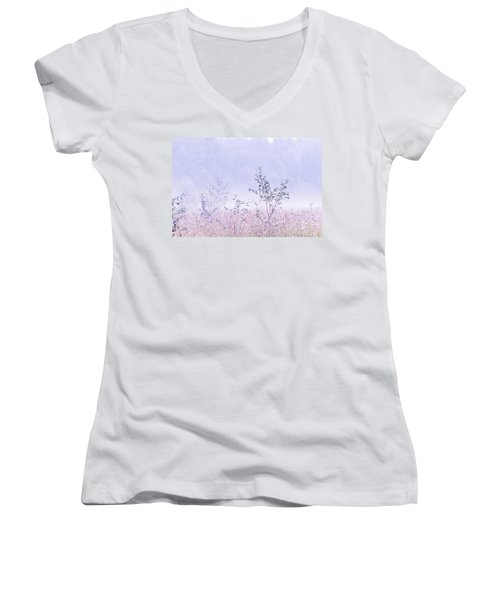 Blue Fog Women's V-Neck