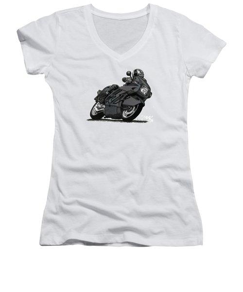 Bmw K1 Women's V-Neck T-Shirt