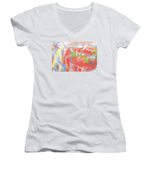 Borderline Women's V-Neck (Athletic Fit)