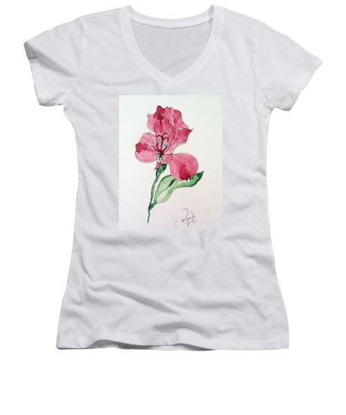 Botanical Work Women's V-Neck T-Shirt