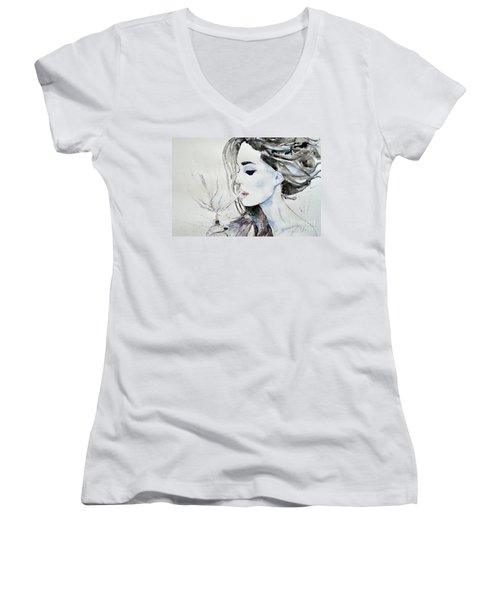 Brigitte Bardot Women's V-Neck T-Shirt