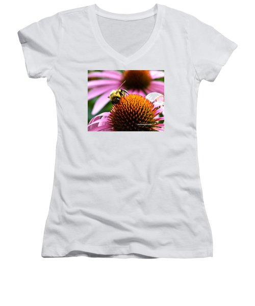 Busy As A Bee Women's V-Neck