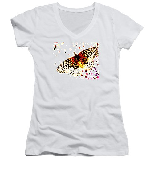 Butterfly 4 Women's V-Neck