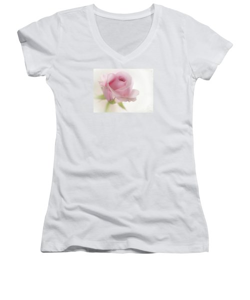 Candy Floss Women's V-Neck T-Shirt (Junior Cut) by Morag Bates