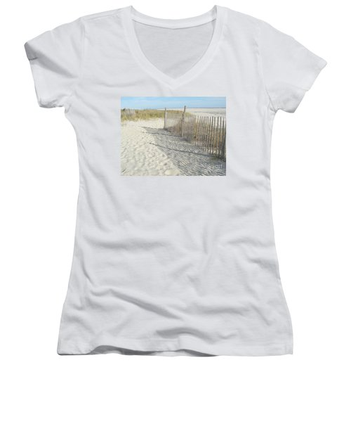 Cape May Women's V-Neck T-Shirt