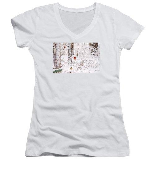 Cardinals Women's V-Neck T-Shirt