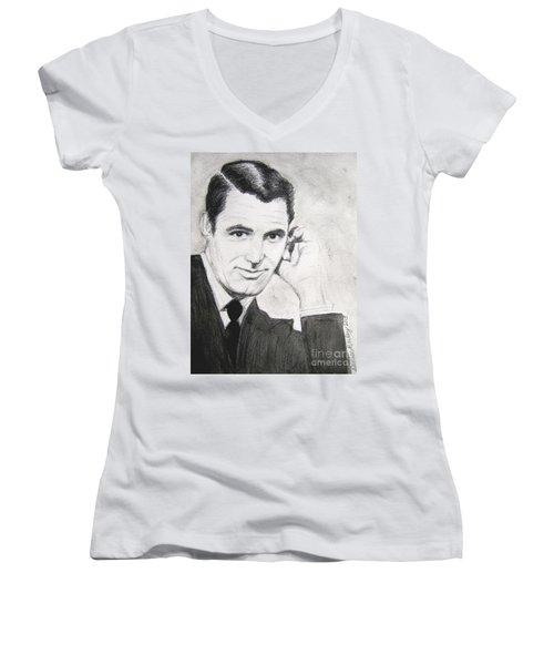 Cary Grant Women's V-Neck