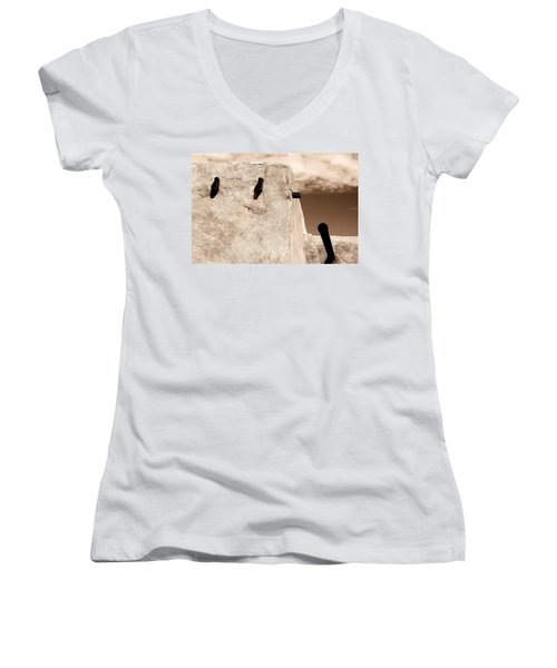 Castolon Adobe Ghost Women's V-Neck