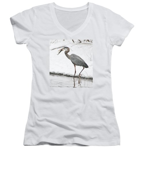 Catch Of The Day 2 Women's V-Neck (Athletic Fit)