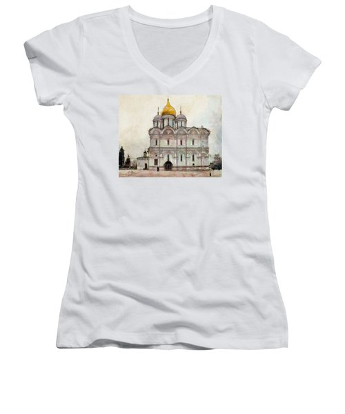 Cathedral Of The Archangel Women's V-Neck