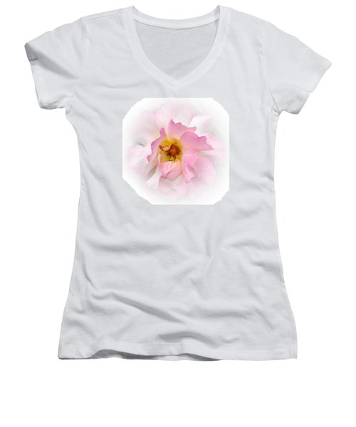 Women's V-Neck featuring the photograph Center Of My Universe by Roxy Hurtubise