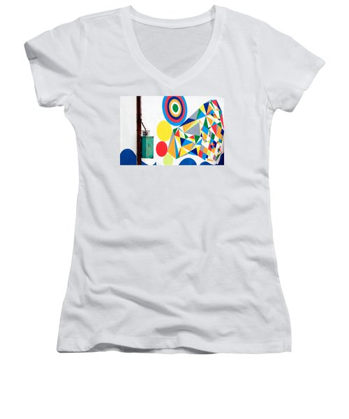 Chaordicolors Limited Edition 1 Of 1 Women's V-Neck (Athletic Fit)