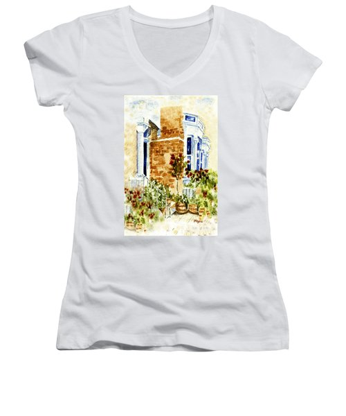 Chelsea Row Women's V-Neck T-Shirt