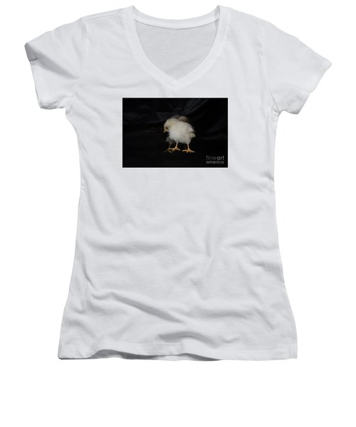 Chicken Dance Women's V-Neck T-Shirt