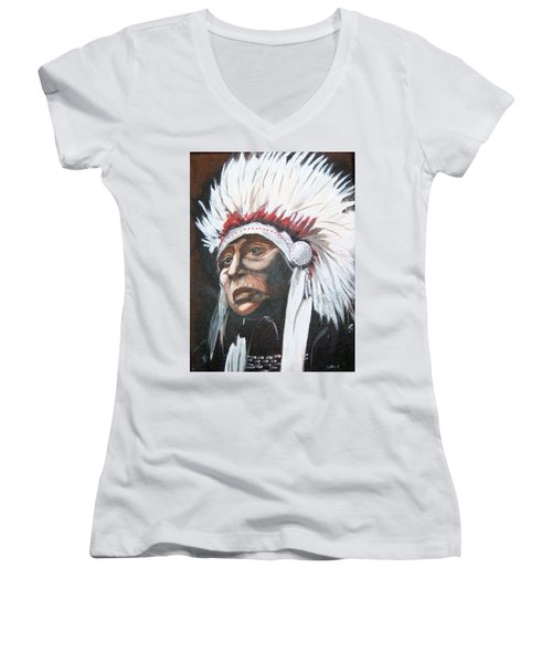 Chief Women's V-Neck (Athletic Fit)