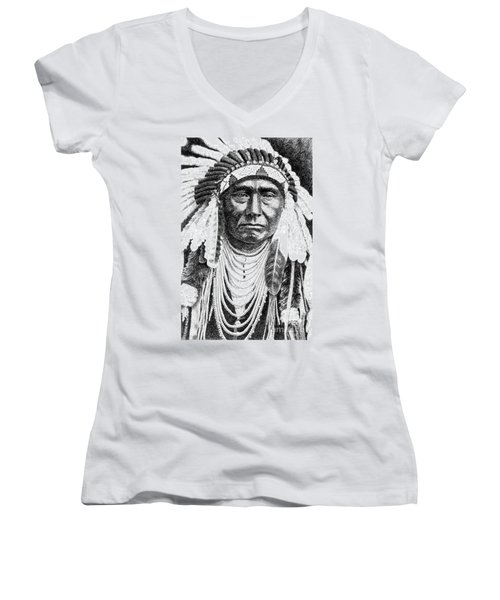 Chief-joseph Women's V-Neck