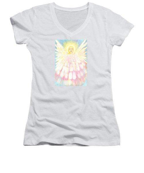 Choiring Angel Women's V-Neck
