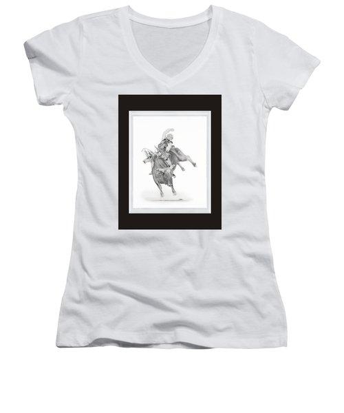 Chris Shivers  Women's V-Neck T-Shirt