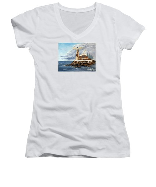Christmas Island Women's V-Neck T-Shirt